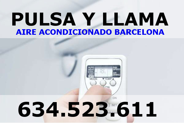 aire acondicionado servicios tecnicos barcelona
