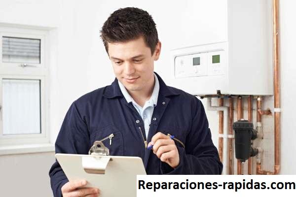 reparación calentador