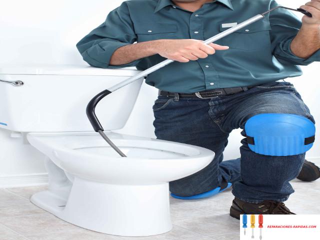 atasco urgente wc bilbao