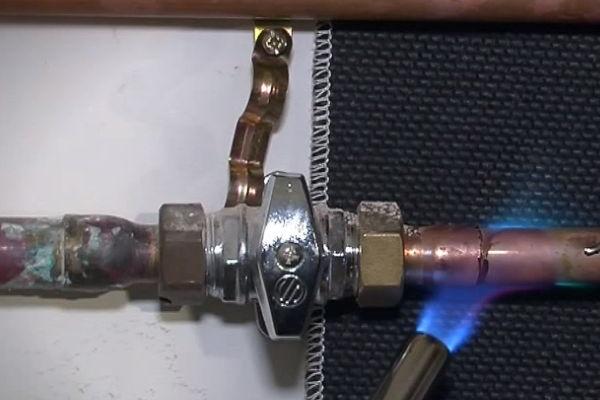 Marcas y modelos de calentadores de gas propano.